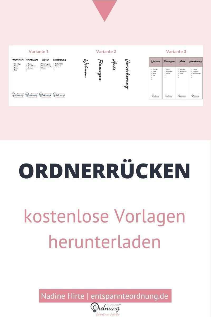 Ordnerrucken Word Pdf Kostenlose Vorlage Zum Download Ordnerrucken Word Ordnerrucken Ordnerrucken Vorlage