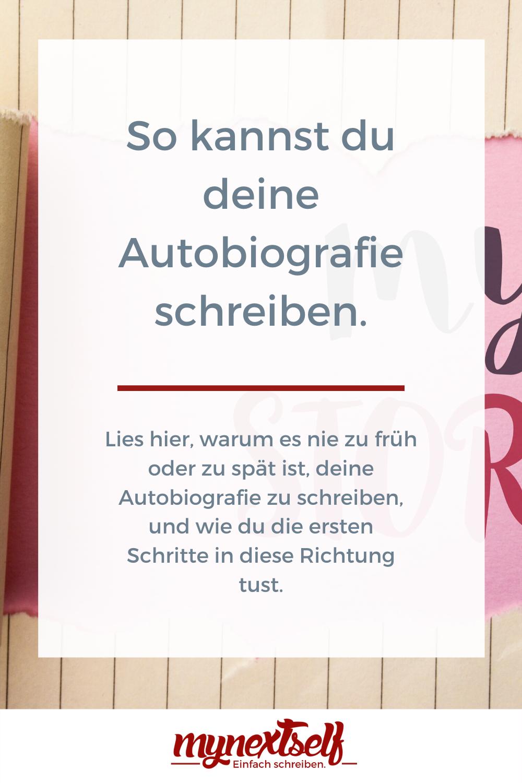 Pin Op Buch Schreiben