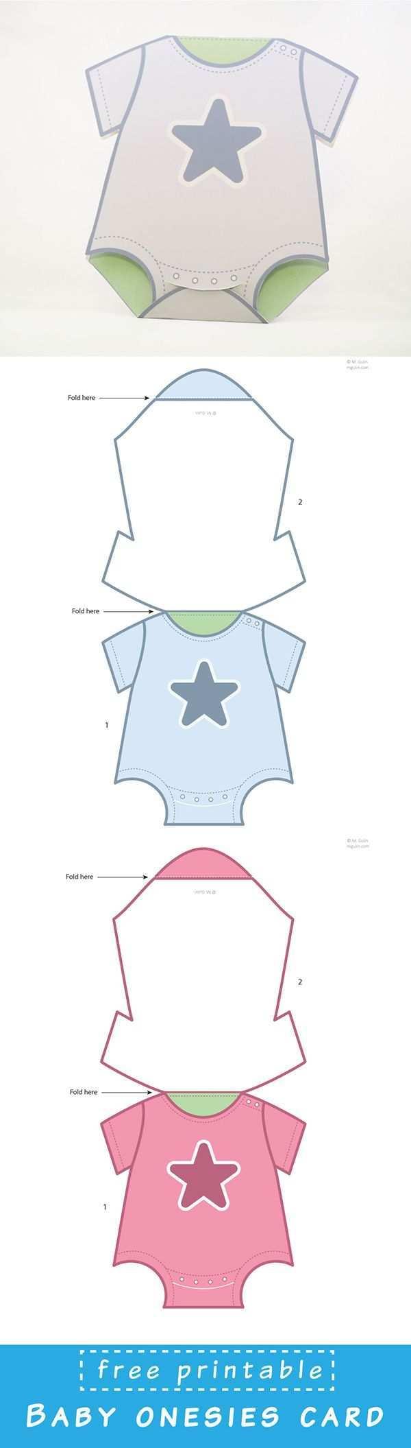 Baby Onesies Cards Babykarten Baby Basteln Und Karten