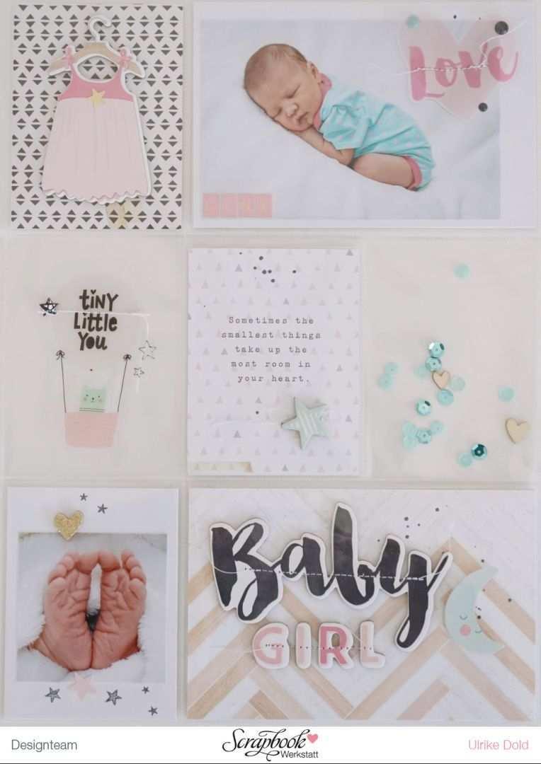 Babyalbum Lina Titelseite Babyalbum Baby Fotoalbum Fotoalbum Kind