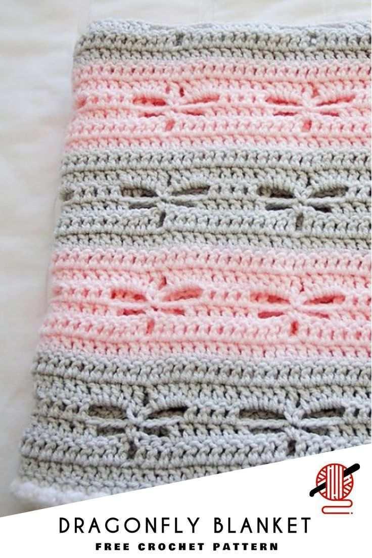 How To Crochet Dragonfly Stitch Free Patterns Babydecke Hakeln Decke Hakeln Hakeln Anleitung