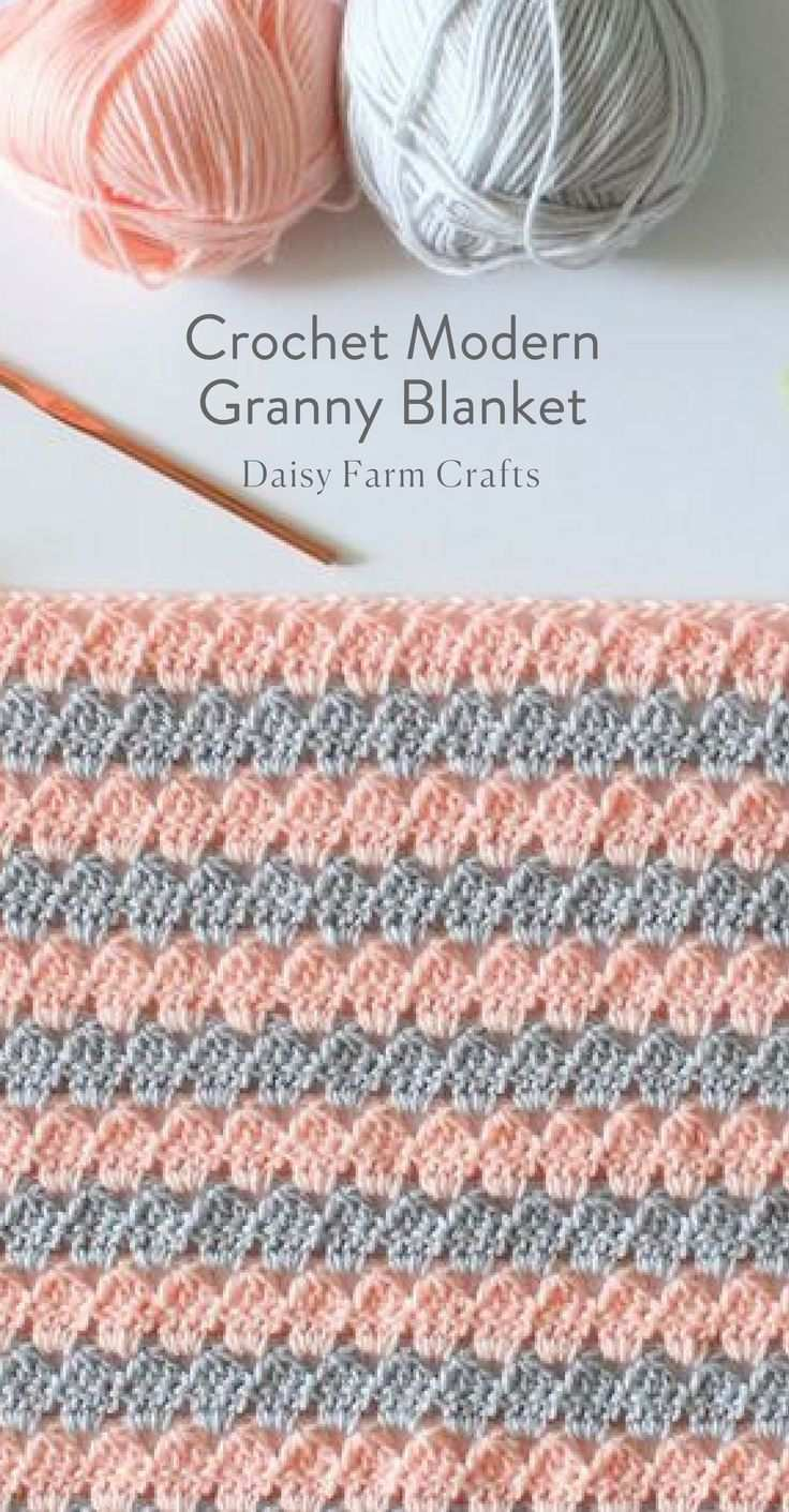 Kostenlose Anleitung Crochet Modern Granny Blanket Babydecke Hakeln Anleitung Kostenlos Babydecke Hakeln Decke Hakeln Muster