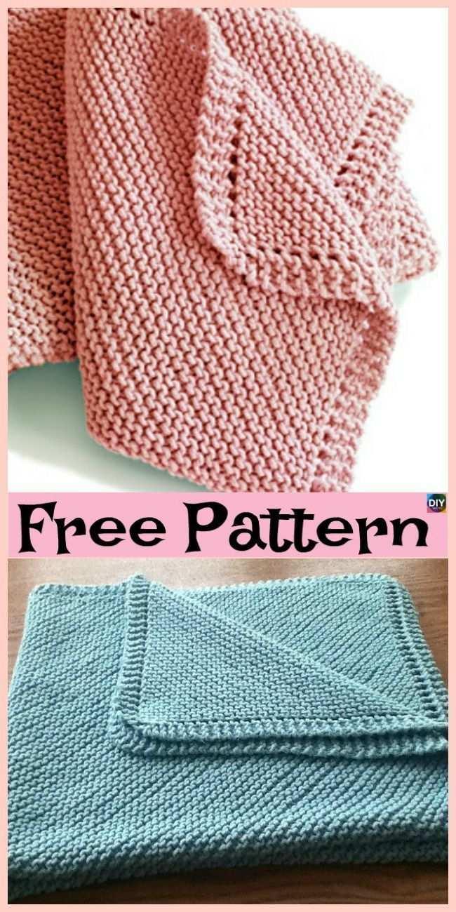 10 Einfachste Stricken Babydecke Freie Muster Gestrickte Babydecken Strickdecke Muster Hakeln Furs Baby