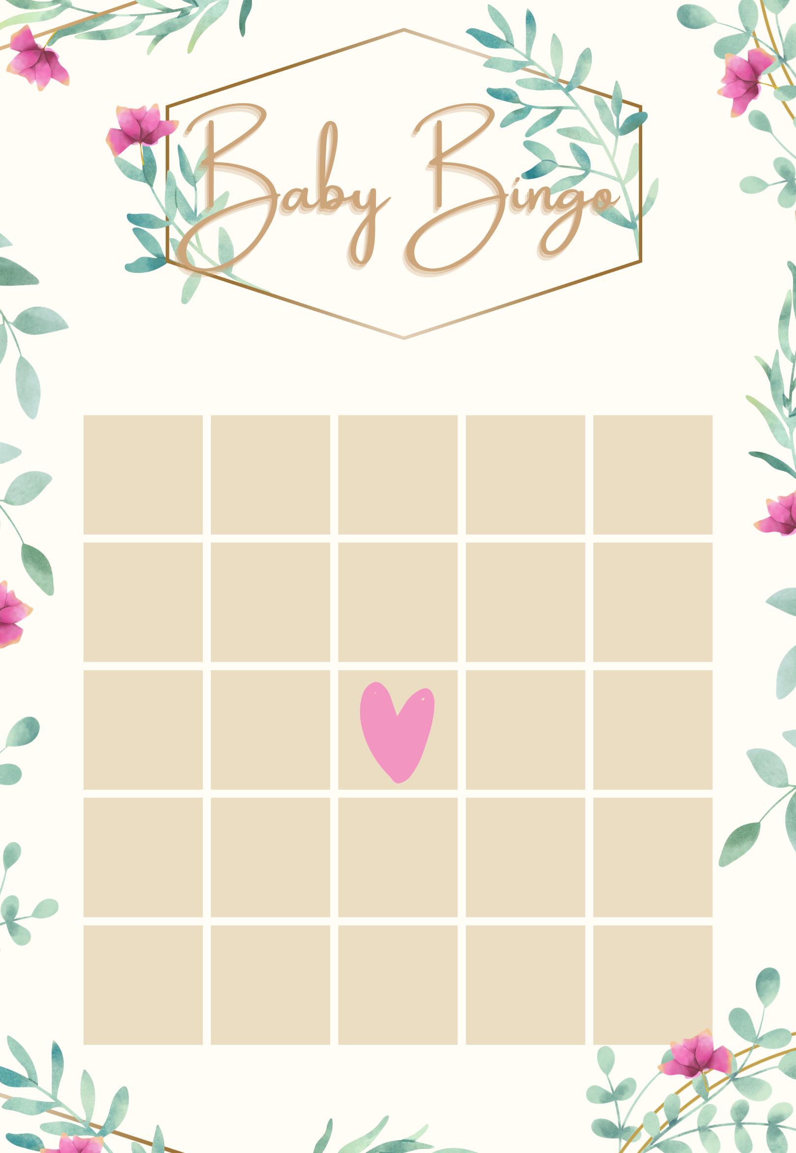 9 1 Lustige Mint Babyparty Spiele Deutsch Zum Sofort Download Und Ausdrucken Baby Bingo Bingo Baby