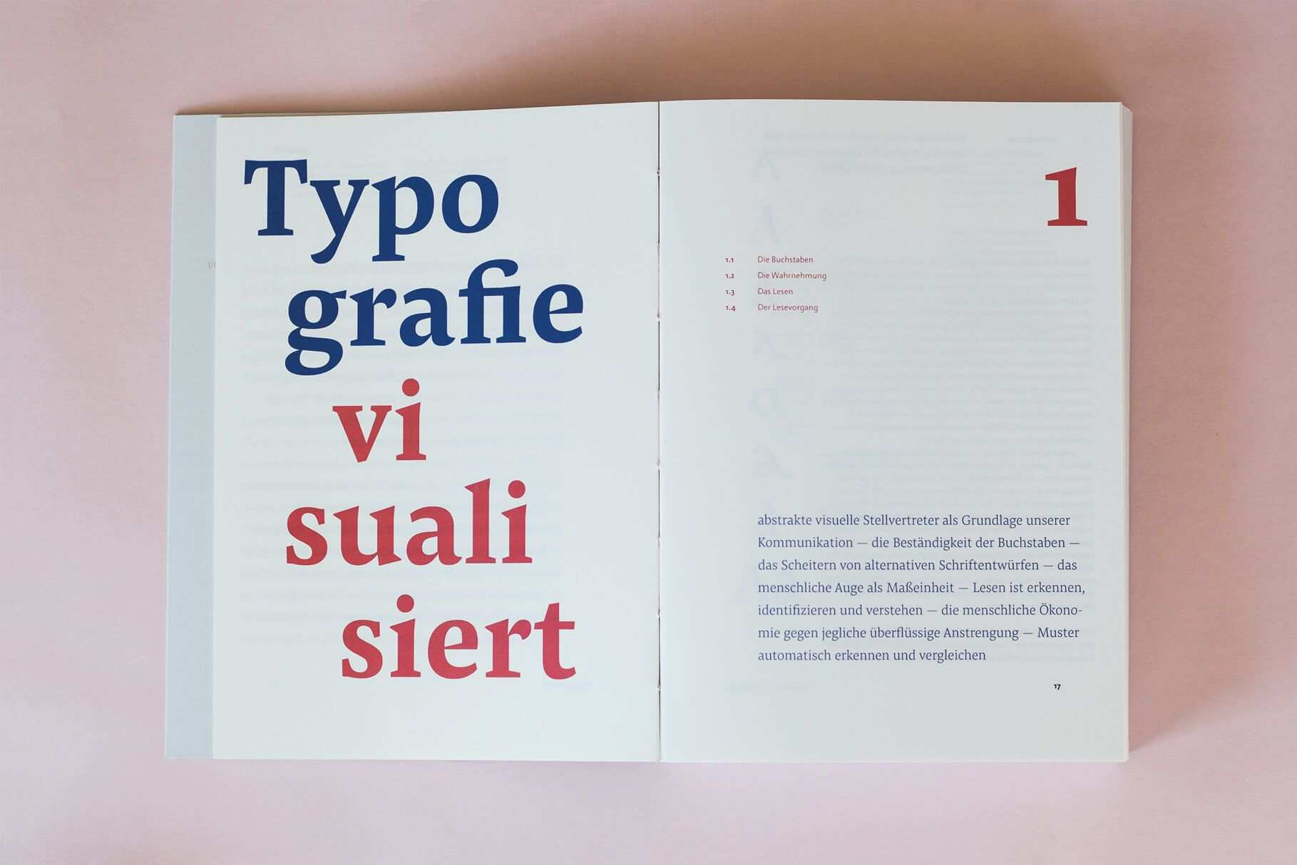 Ansichtssache Bachelor Thesis By Sabrina Ottl On Readability And The Details In Typography Uses Pensum Pro For Text And Headlines Typography Design Thesis
