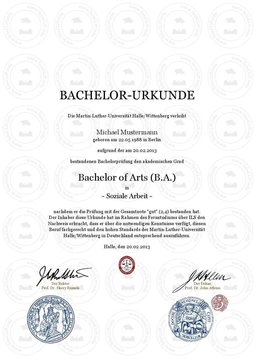 Bachelor Urkunde Kaufen Martin Luther Universitat Halle Aktuelle Vorlage Bachelor Urkunde Einfach Online Kaufen Martin Luthe Bachelor Meisterbrief Urkunde