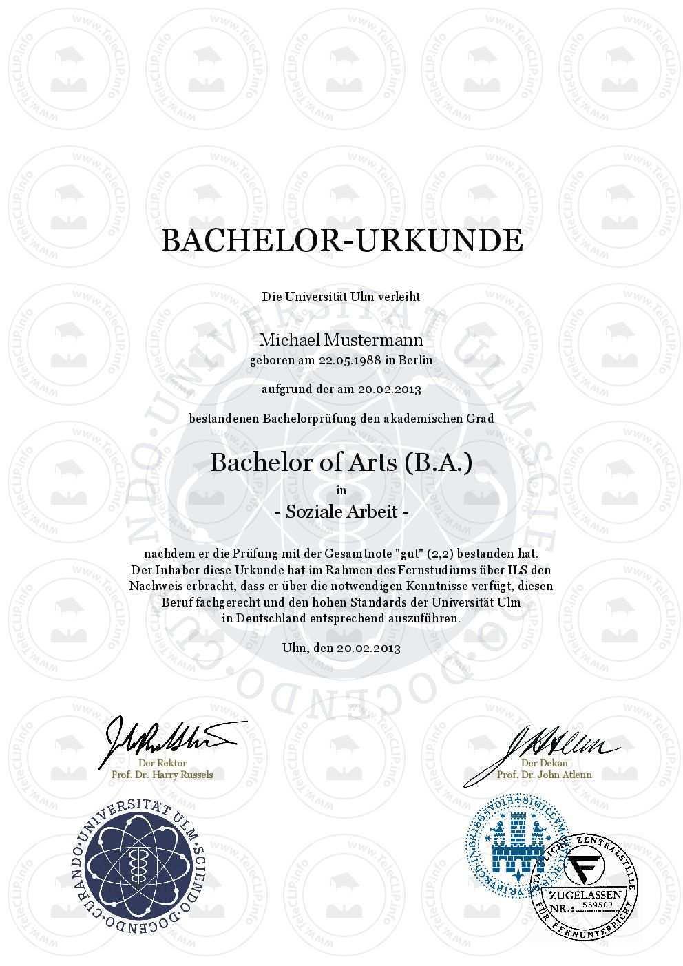 Bachelor Urkunde Universitat Ulm In Einer Rangliste Der Besten Universitaten Weltweit Bachelor Urkunde Einfach Online Kaufen Universit Bachelor Urkunde Master