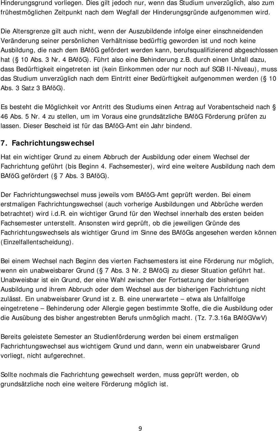 Information Zum Bundesausbildungsforderungsgesetz Bafog Fur Studierende Mit Behinderung Oder Chronischer Erkrankung Pdf Kostenfreier Download