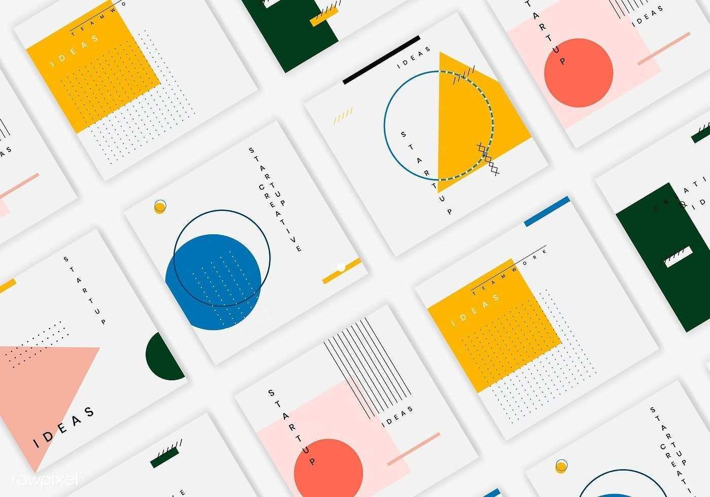 Download Free Vector Of Minimal Website Banner Design Vector Set 584775 In 2020 Mit Bildern Banner Design Vektorfrei Bannervorlage