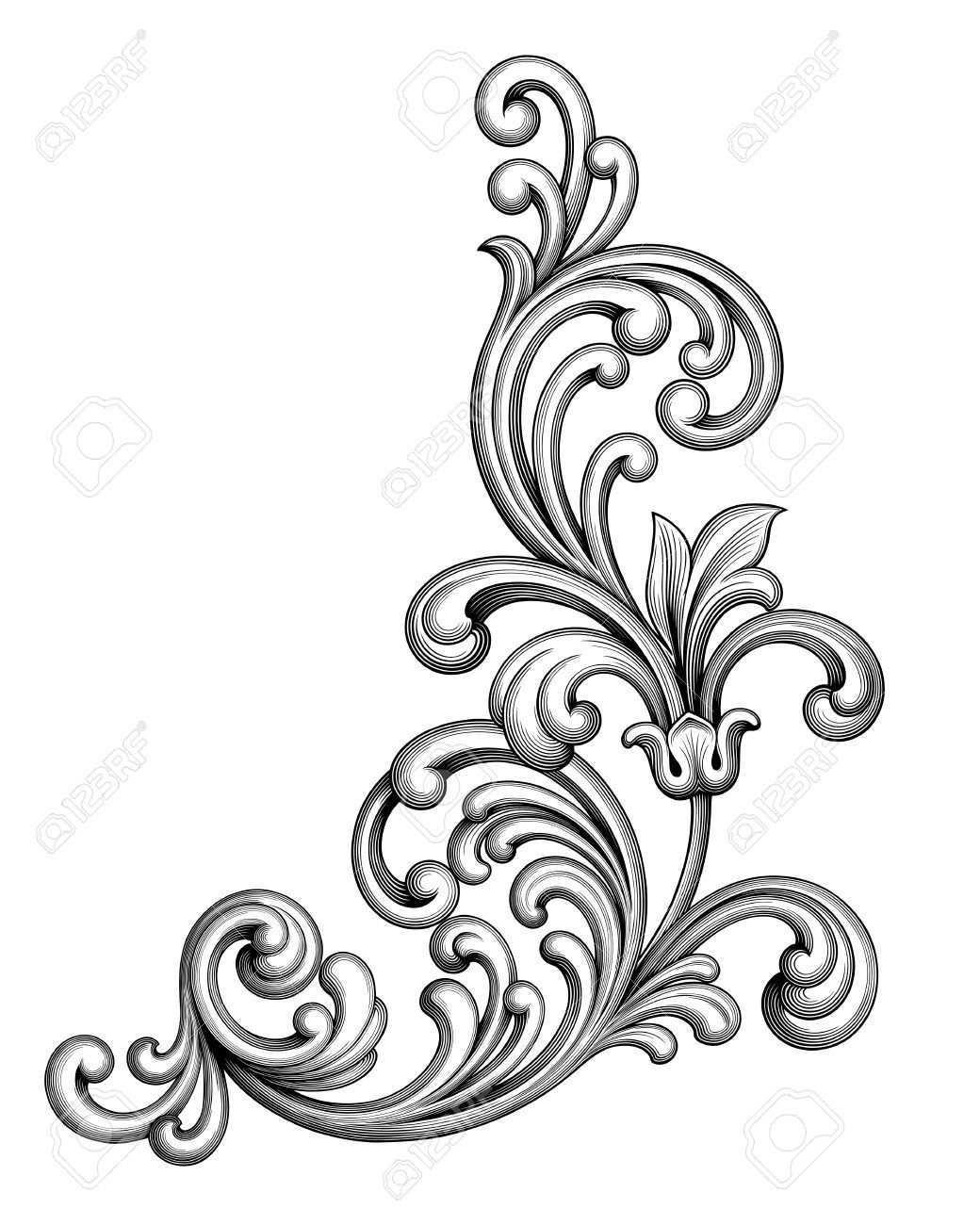 Pin Em Vintazhnye Dekorativnye Elementy