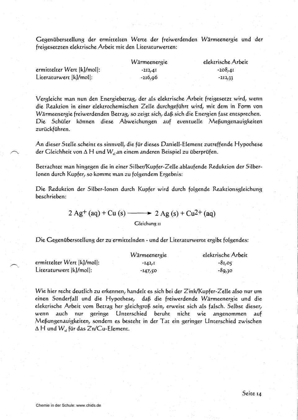 Schriftliche Ausarbeitung Des Experimentalvortrages Zum Thema Pdf Free Download