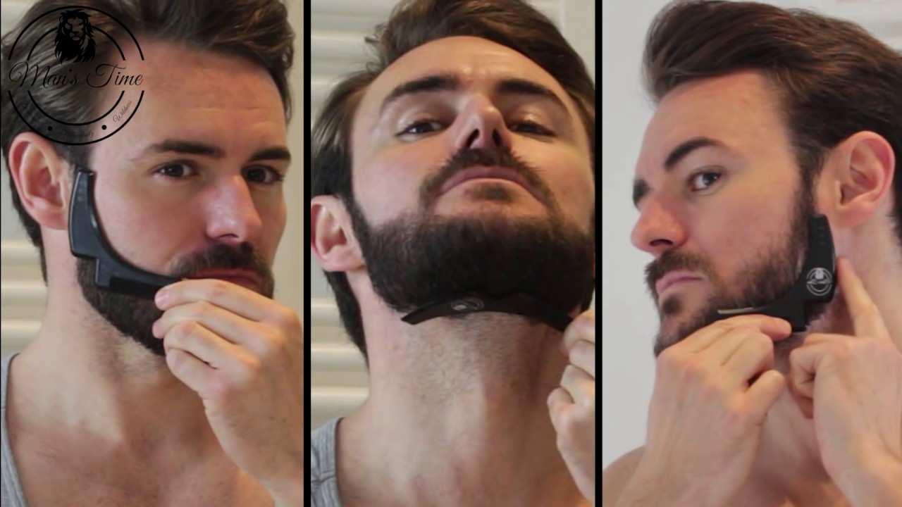 Bart Rasieren Muster