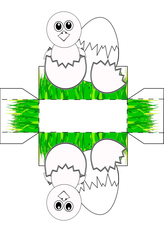 Osternest Zum Basteln Und Ausmalen Osterkorb Basteln Osternest Basteln Vorlagen Osterkorb Fur Kinder