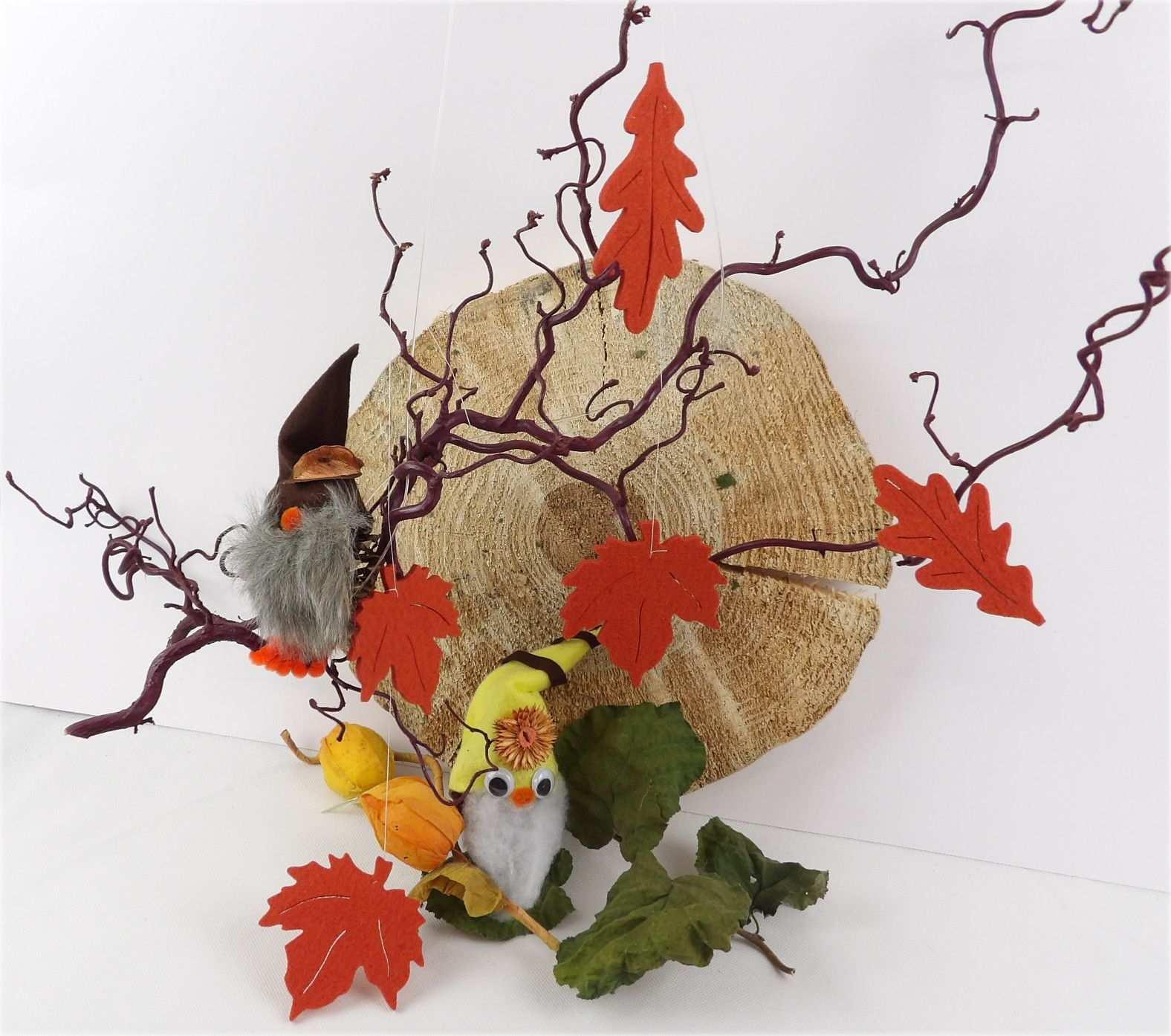 Herbstdeko Basteln Mit Filz Basteln Kreativ Basteln Mit Filz
