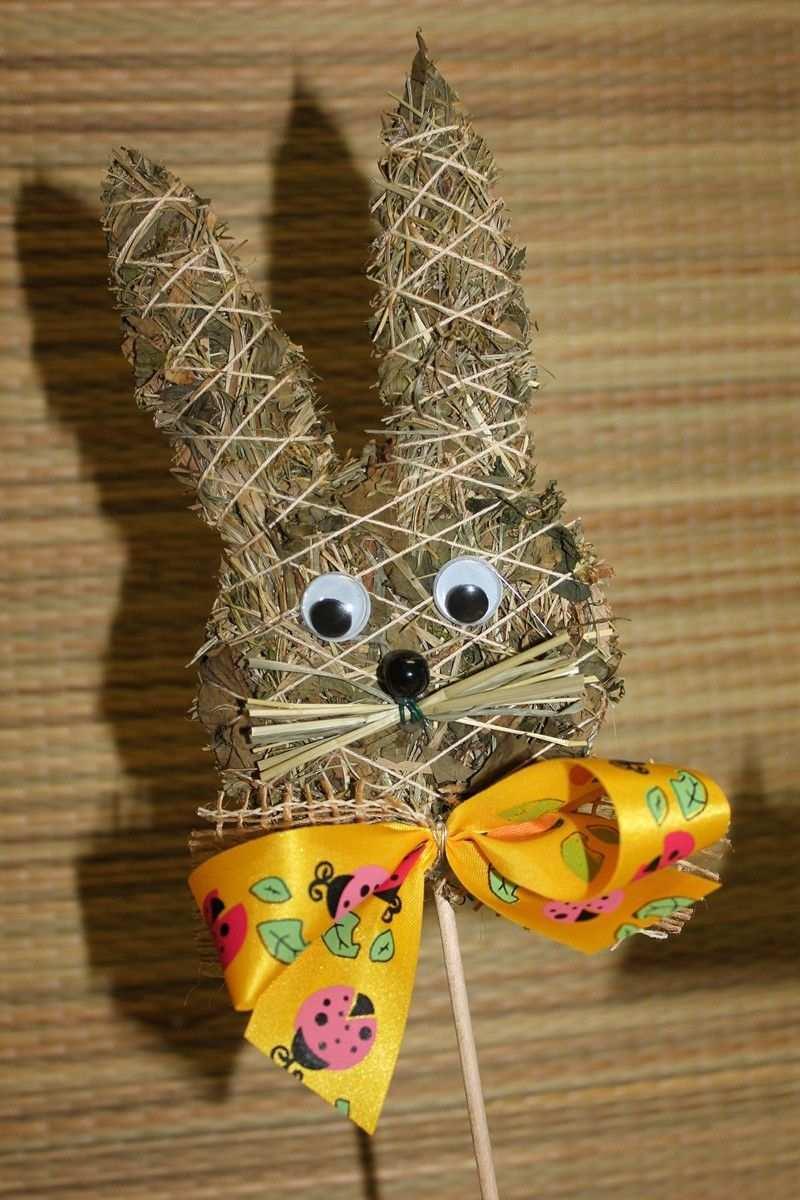 Zapich Zajicek Zbozi Prodejce Irunka Straw Crafts Spring Crafts Crafts