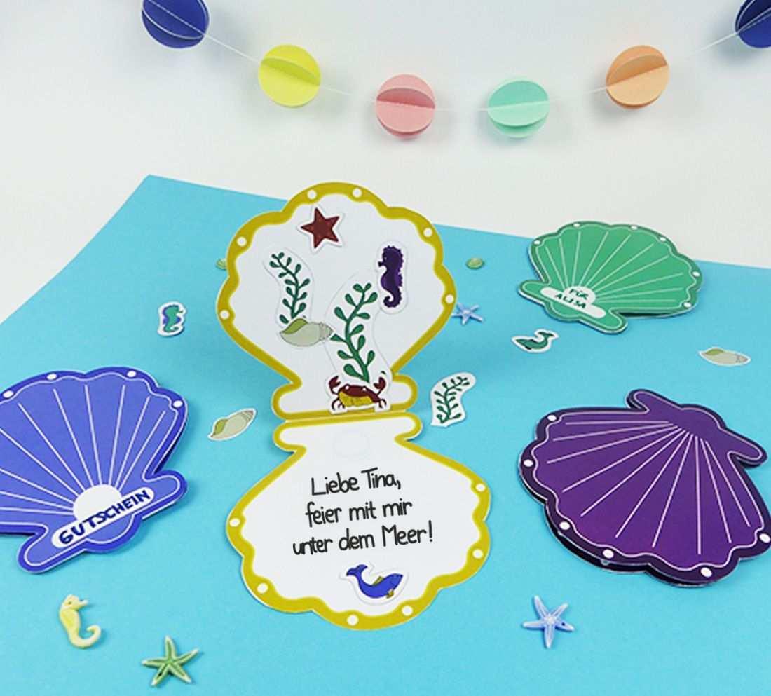 Meerjungfrau Einladung Fur Den Kindergeburtstag Balloonas Com Einladung Basteln Meerjungfrau Einladung Einladung Kindergeburtstag