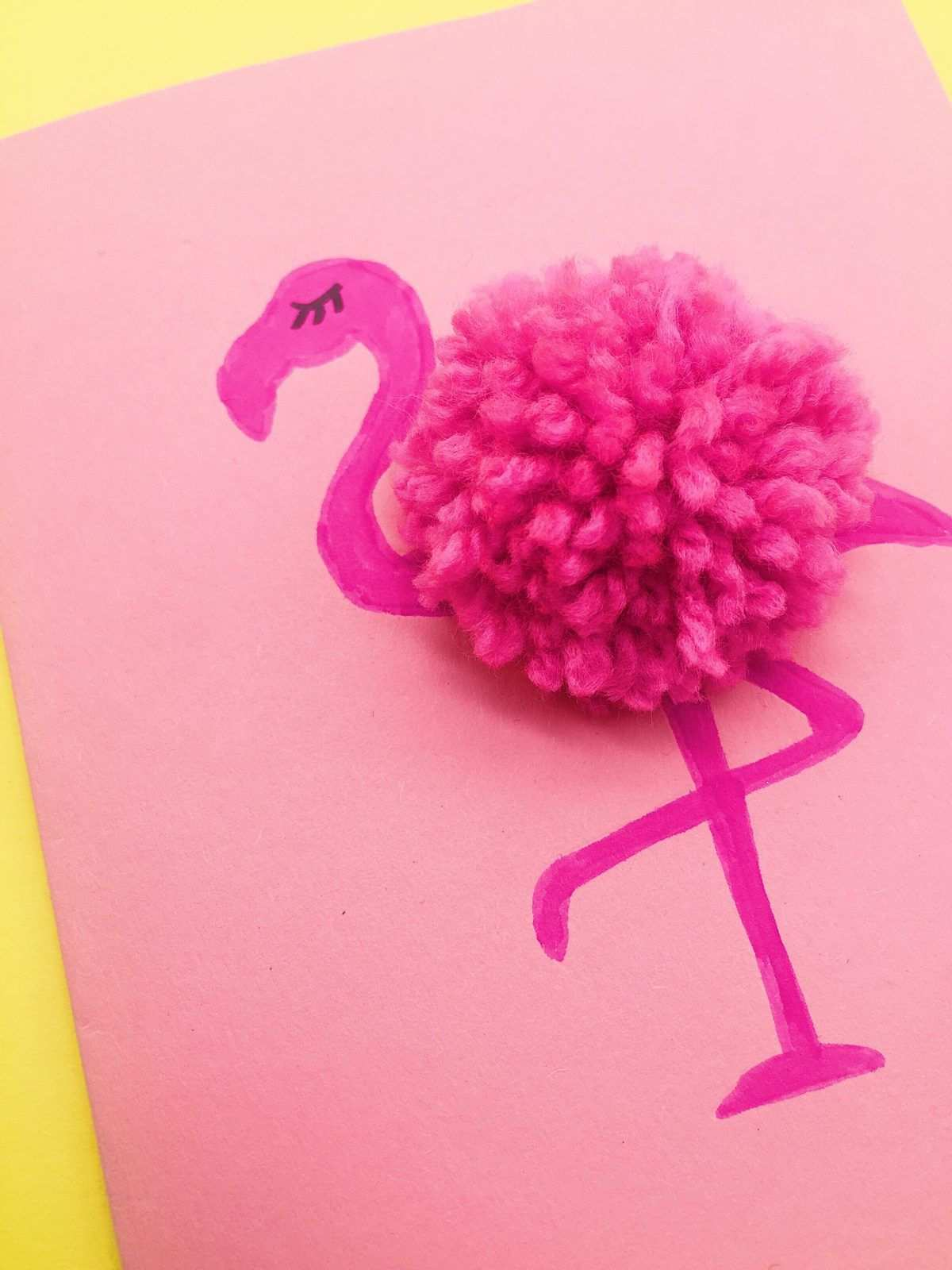 Drei Einfache Bastelideen Mit Flamingos Bastelideen Flamingo Geburtstag Basteln
