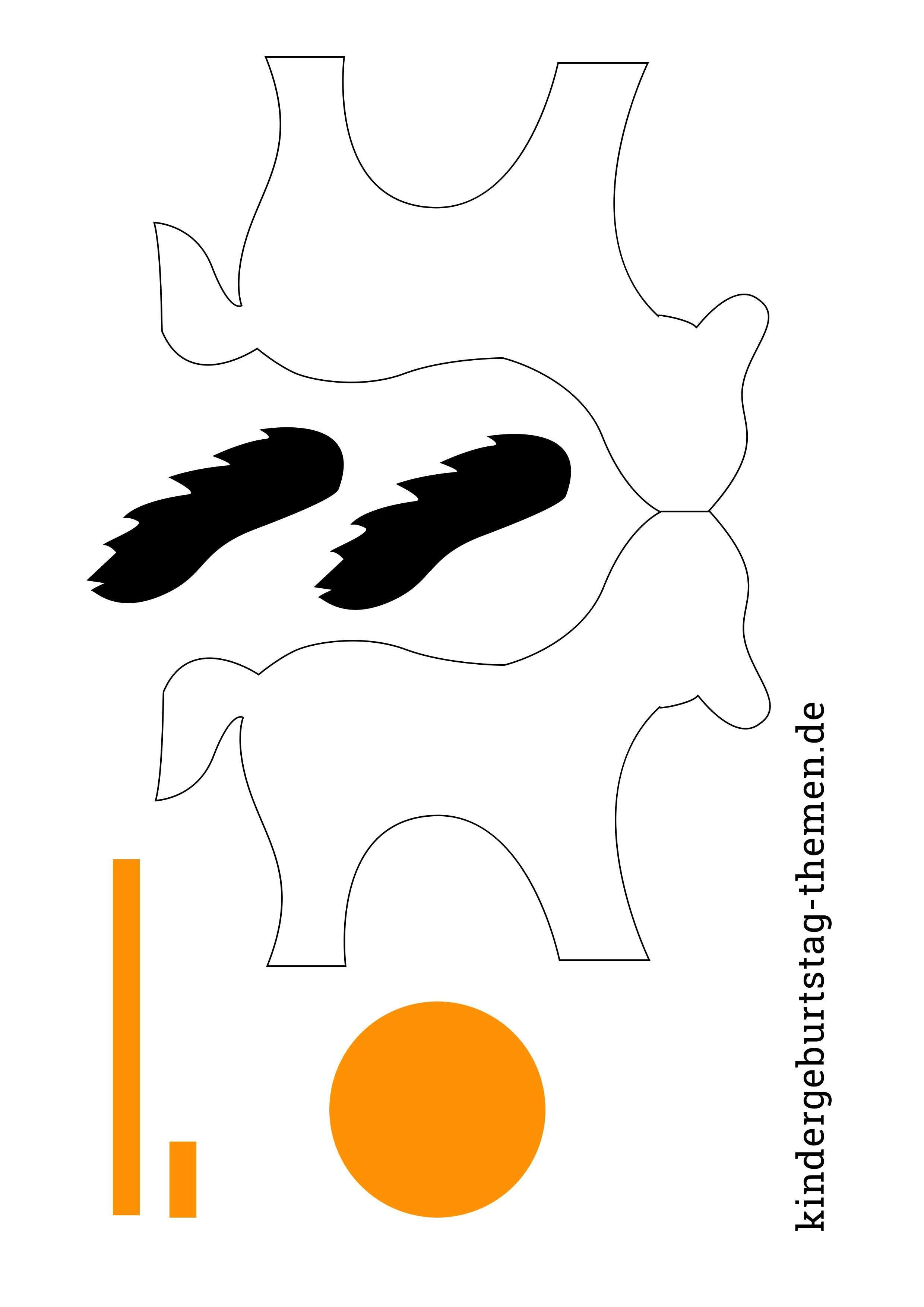 Pferd Basteln Aus Papier Kostenlose Vorlage Und Anleitung Einladungskarten Kindergeburtstag Basteln Pferd Vorlage Kindergeburtstag Basteln