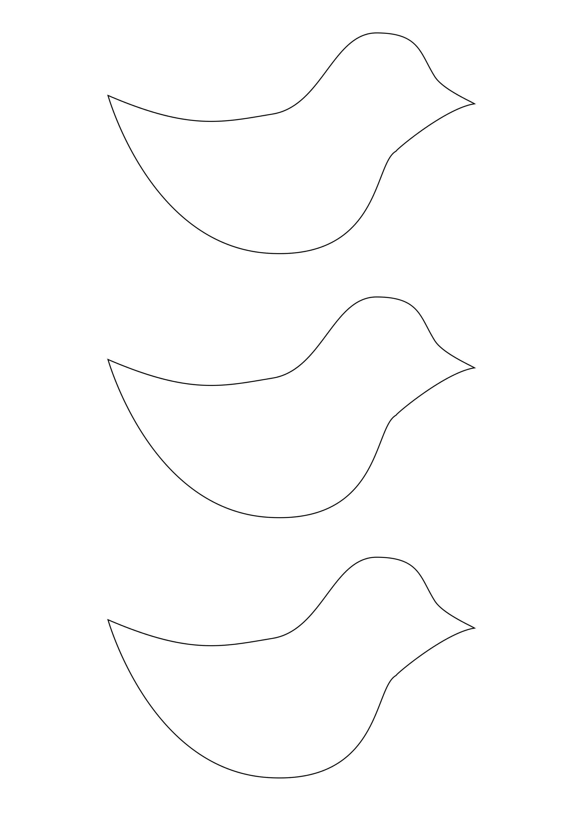 Vogel Basteln Aus Papier Einfache Anleitung Und Vorlage Fur Kinder Vogel Basteln Vogel Vorlage Papier Vogel