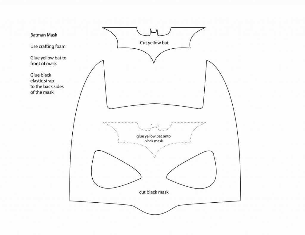 A Thousand Phases Make Your Own Batman Mask Batman Mask Batman Mask Template Superhero Crafts