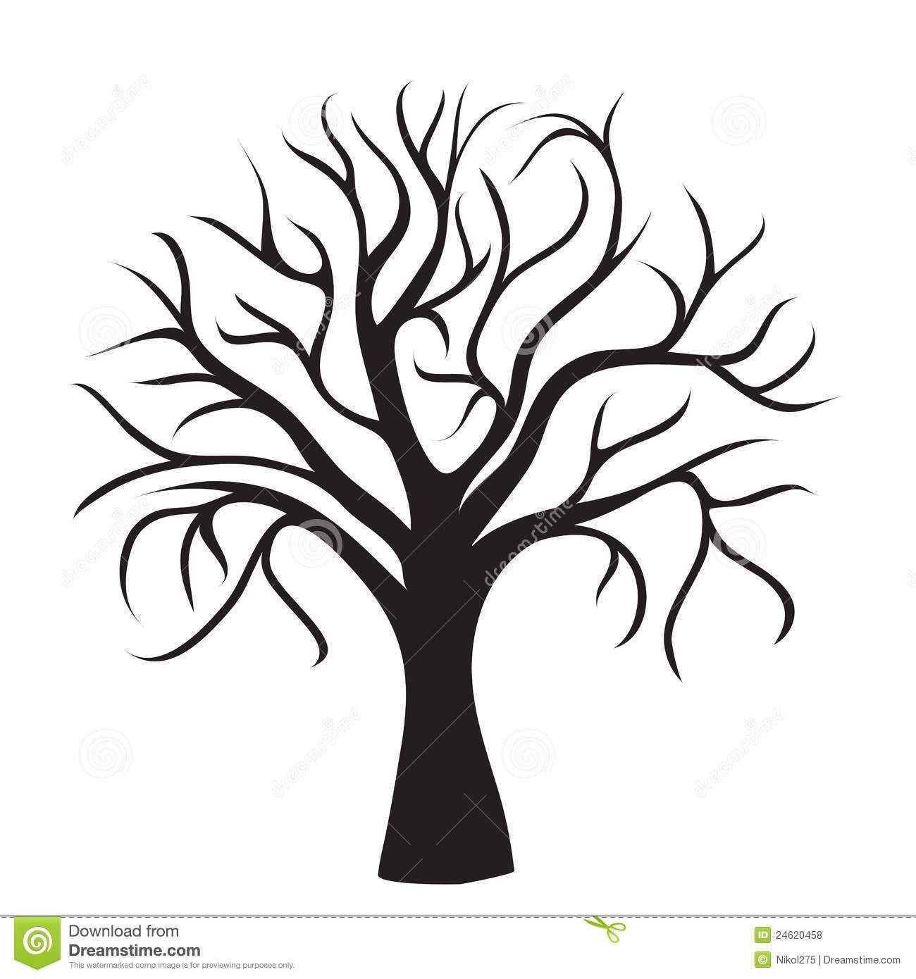 Vorlage Baum Baum Schablone Baum Zeichnung Baumbilder