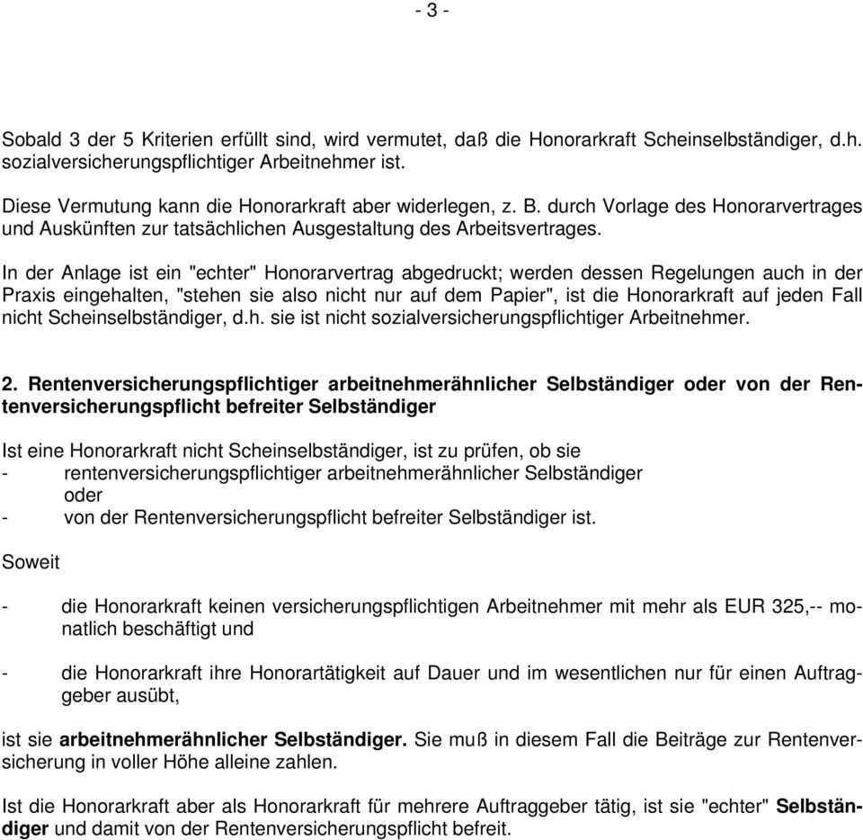 Mustervertrag Fur Honorarkrafte In Beratungsstellen Pdf Kostenfreier Download