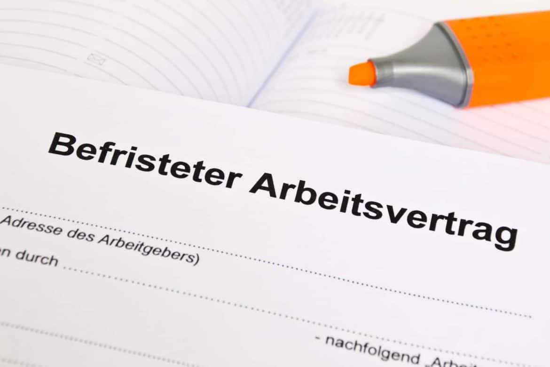 Befristeter Arbeitsvertrag Kundigung Verlangerung Checkliste Arbeits Abc De