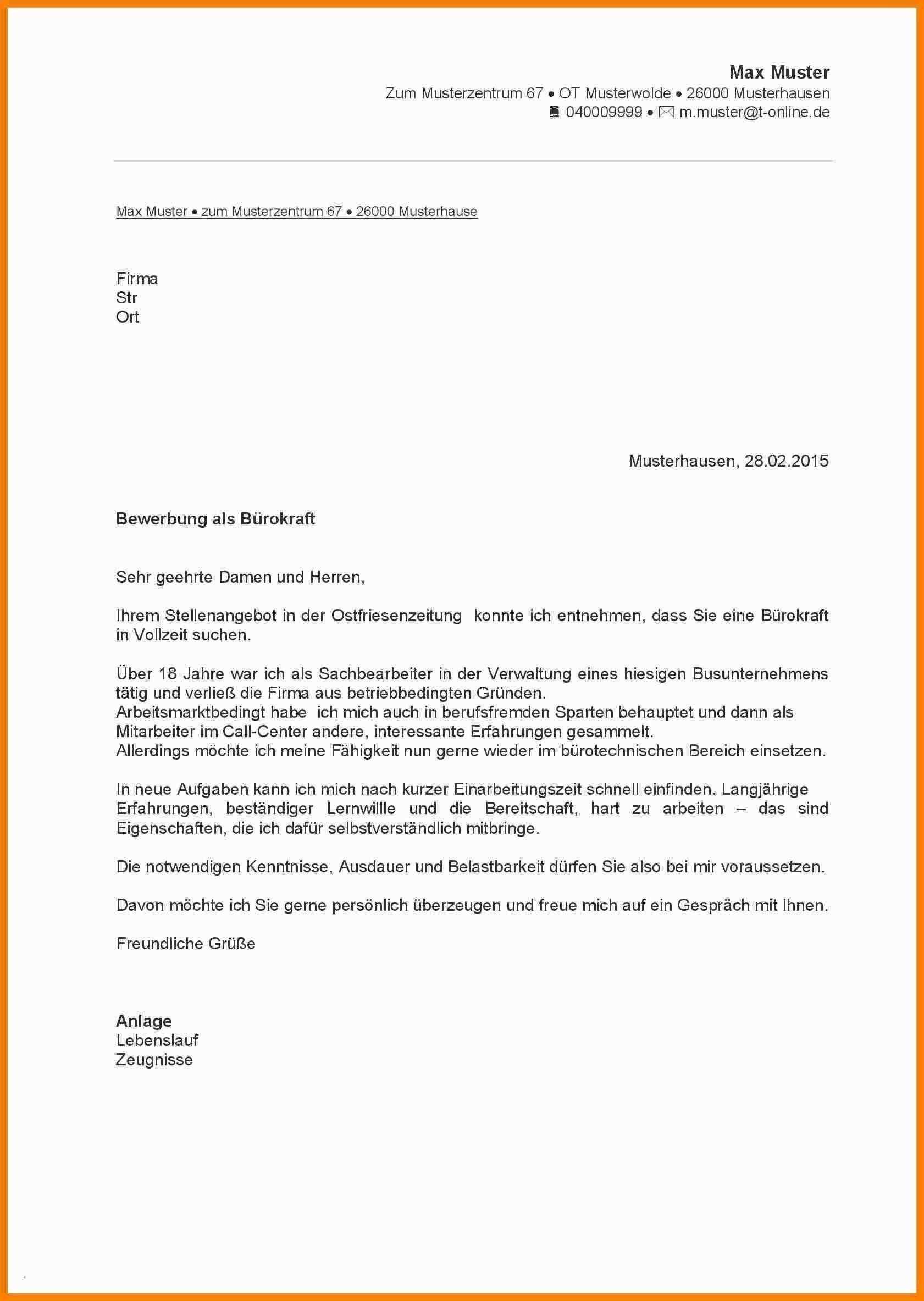 Frisch Bewerbungsvorlage Pdf Briefprobe Briefformat Briefvorlage Bewerbung Schreiben Lebenslauf Lebenslauf Muster