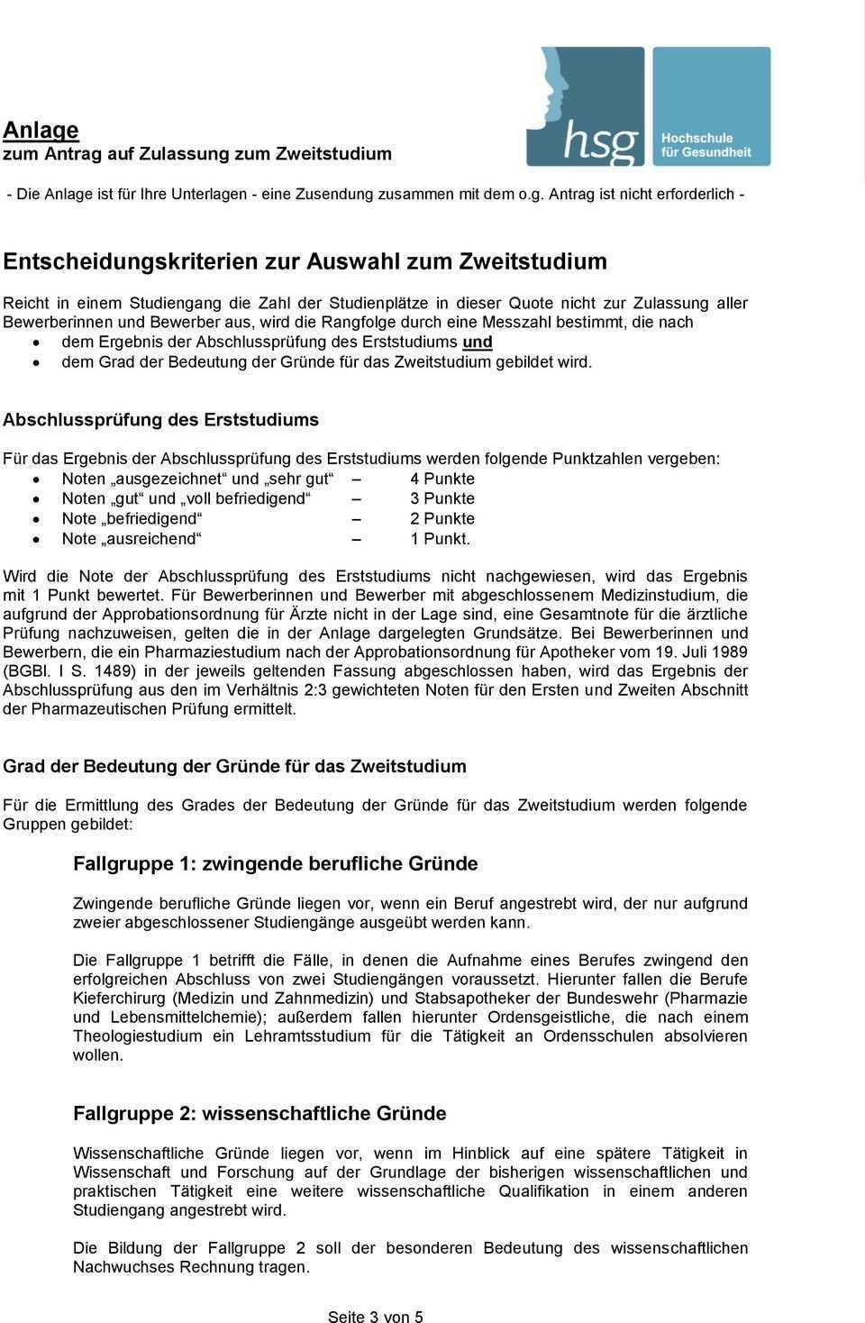 Antrag Auf Zulassung Zum Zweitstudium Pdf Free Download
