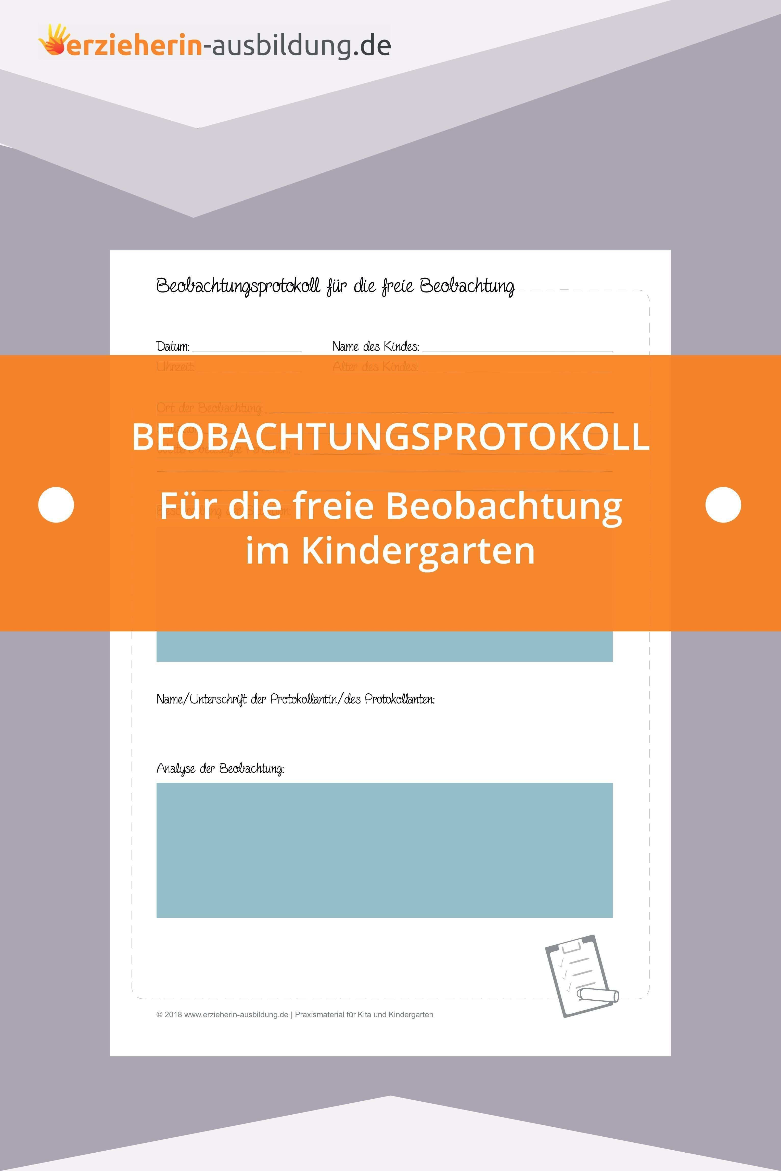 Die Freie Beobachtung Merkmale Tipps Und Haufige Fehler Soziales Lernen Erzieherausbildung Kindergarten