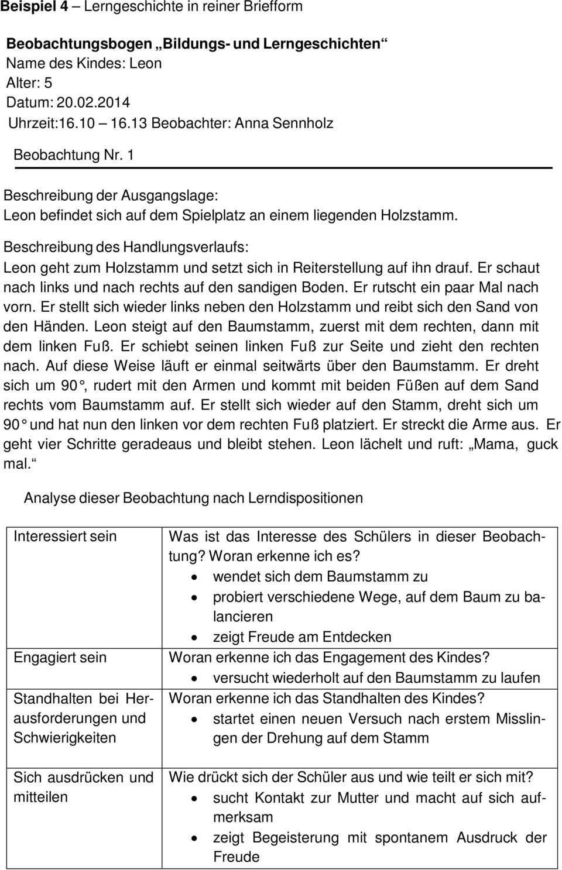Empfehlung Zur Dokumentation Von Schulerleistungen Im Zieldifferenten Unterricht Entwurf Pdf Free Download