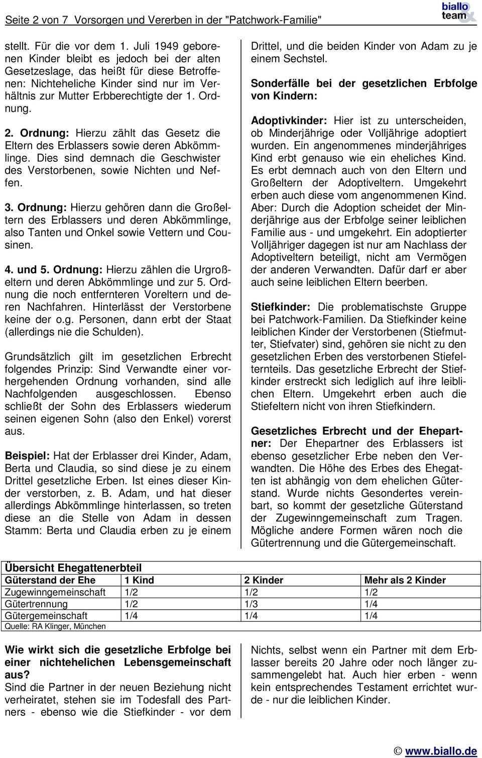 Vorsorgen Und Vererben In Der Patchwork Familie Pdf Free Download