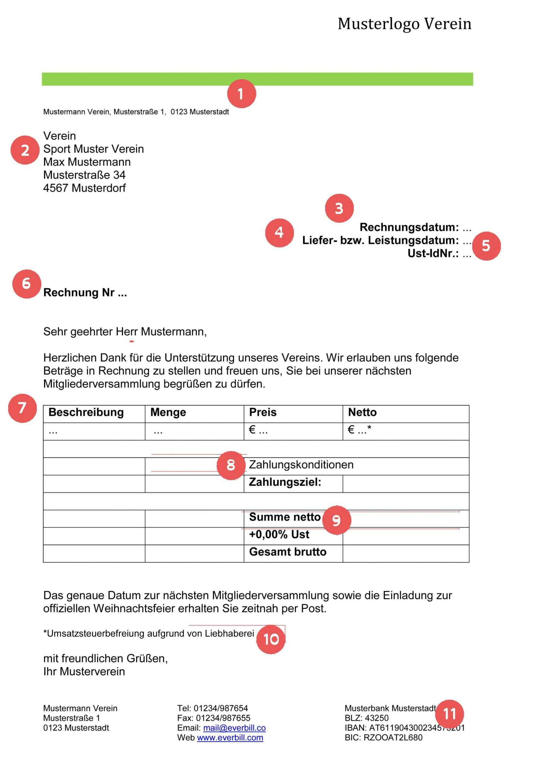 Durchsuche Unsere Das Sample Von Sponsoring Rechnung Vorlage Rechnung Vorlage Rechnungsvorlage Vorlagen Word