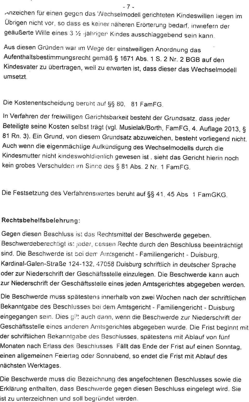 Amtsgericht Duisburg Familiengericht Beschluss Pdf Free Download