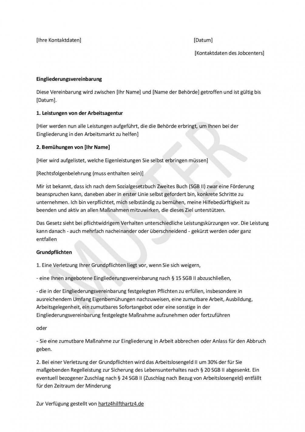 Blattern Unsere Das Image Von Vereinbarung Kostenubernahme Fuhrerschein Vorlage Vorlagen Vereinbarung Arbeitsagentur