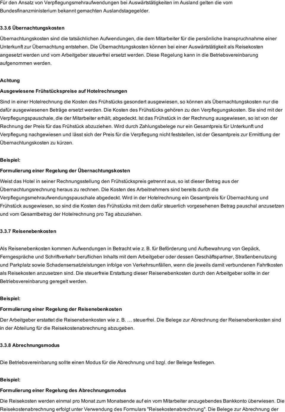 Praxisbeitrag In Sechs Schritten Zur Betriebsvereinbarung Reisekosten Li Pdf Free Download