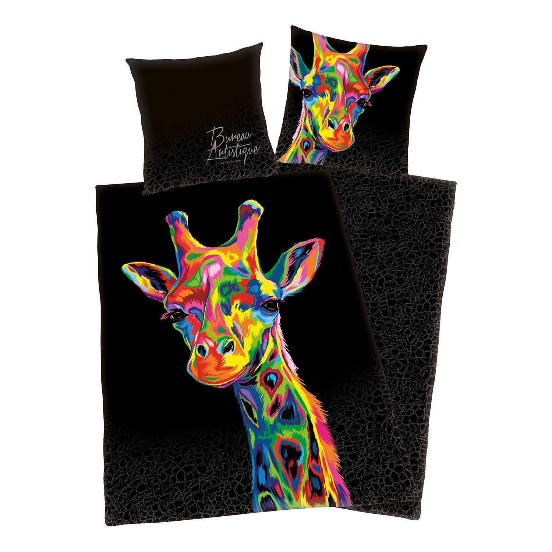 Bettwaesche Bureau Artistique Giraffe Kinderbettwasche Bettwasche Und Leinenbettwasche