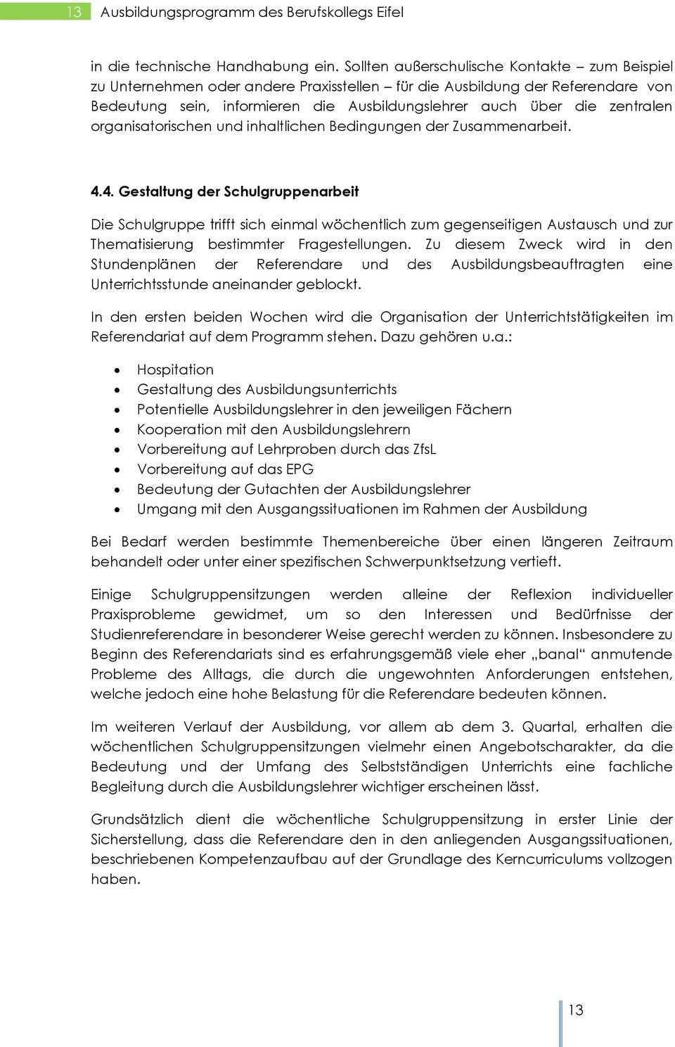 Ausbildungsprogramm Fur Referendare Und Seiteneinsteiger Pdf Free Download