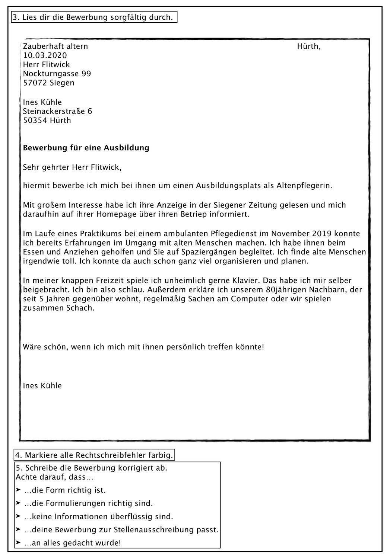 Klassenarbeit Mit Bewertungsbogen Bewerbungen Uberarbeiten Unterrichtsmaterial Im Fach Deutsch In 2020 Klassenarbeiten Bewerbung Erste Klasse