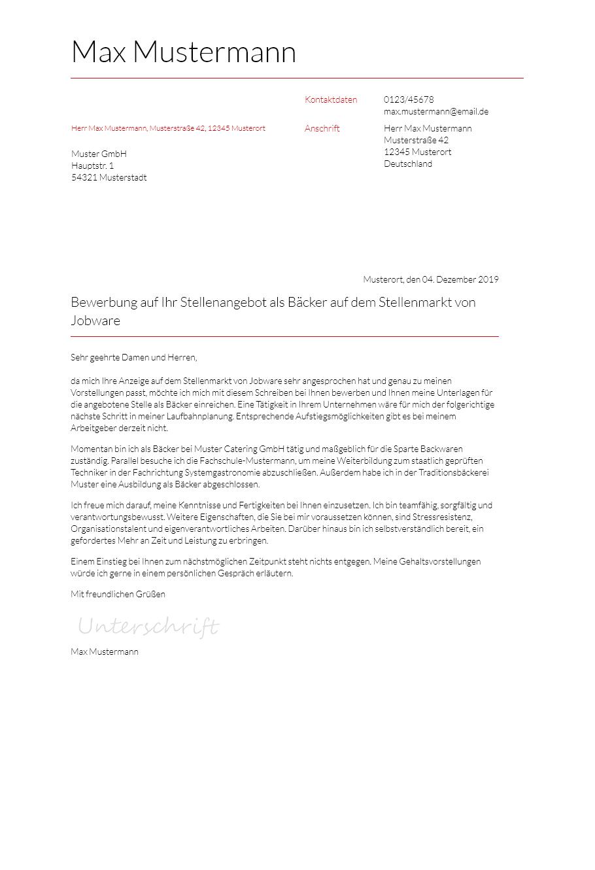 Bewerbungsvorlagen Als Verwaltungsfachangestellter Typographisch Bewerbung2go