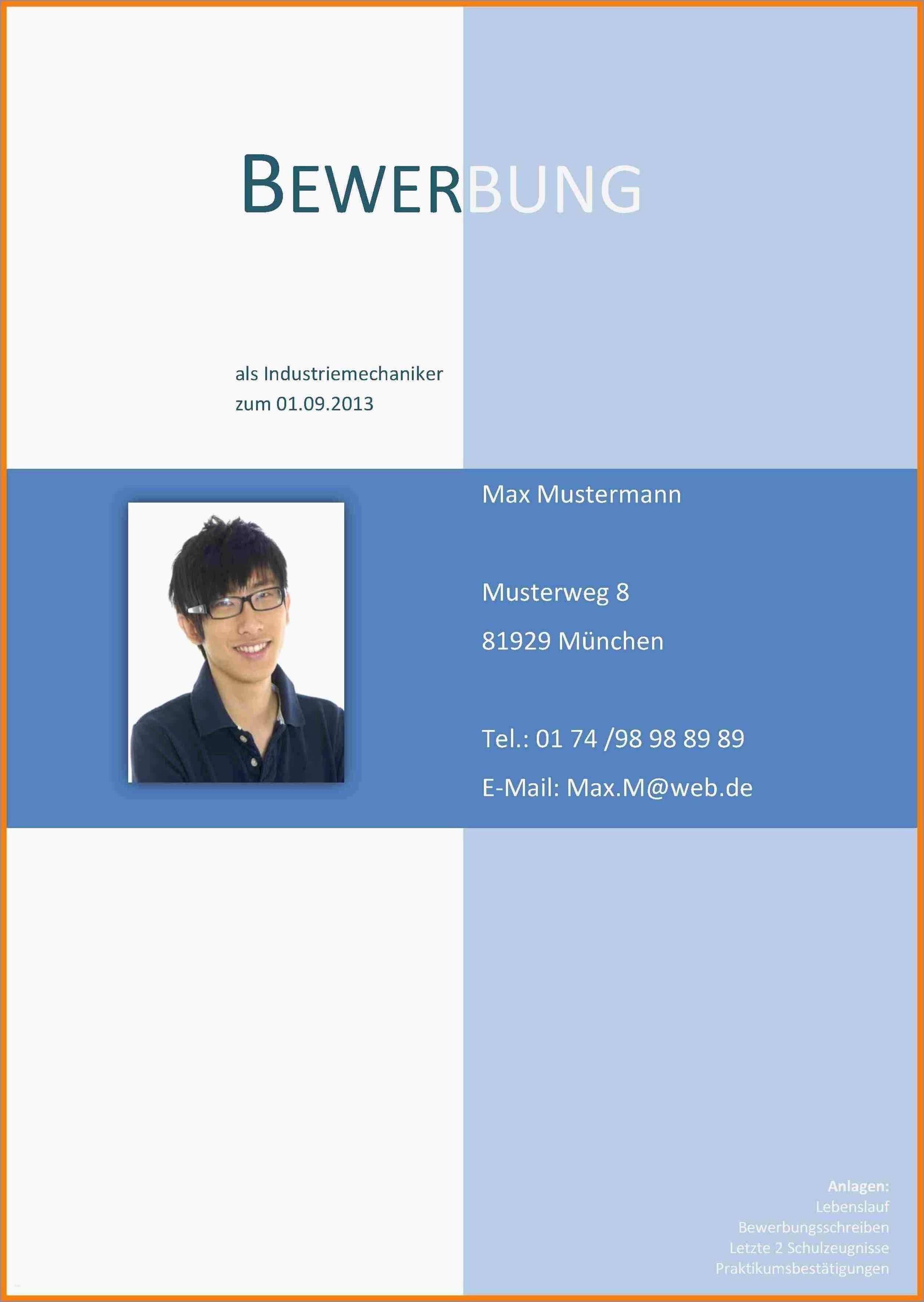 Deckblatt Zur Bewerbung Beruf Beruf Bewerbung Deckblatt Musterdeckblattbewerbung Zur In 2020 Bewerbungsschreiben Lebenslauf Bewerbung Schreiben
