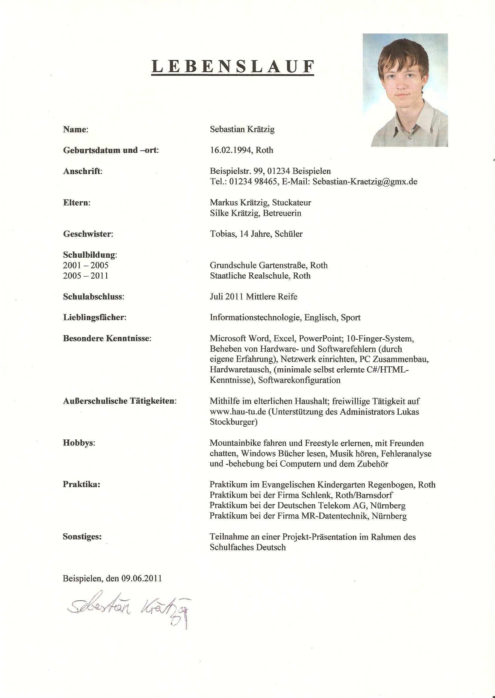 Curriculum Vitae Englisch Klasse 9 Modelo De Curriculum Vitae Curriculum Vitae Curriculum Budget Planner