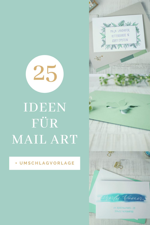 Umschlag Basteln 25 Kreative Ideen Fur Mail Art In 2020 Umschlag Basteln Umschlag Handgemachte Umschlage