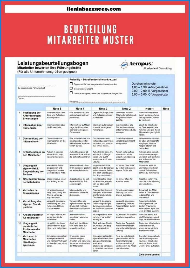 10 Metode Beurteilung Mitarbeiter Muster Gut Und Effektiv Leistungsbeurteilung Beurteilung Positiv Und Negativ