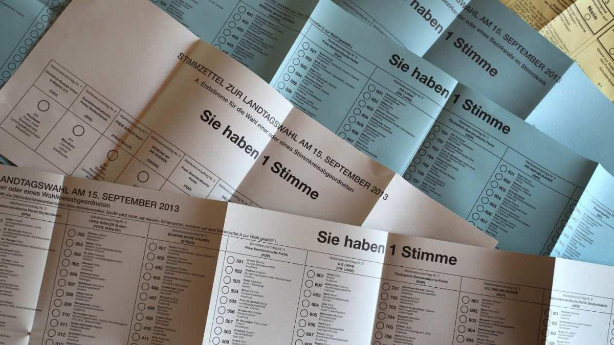 Wahlsystem In Bayern So Funktioniert Die Landtagswahl Bayern Sz De