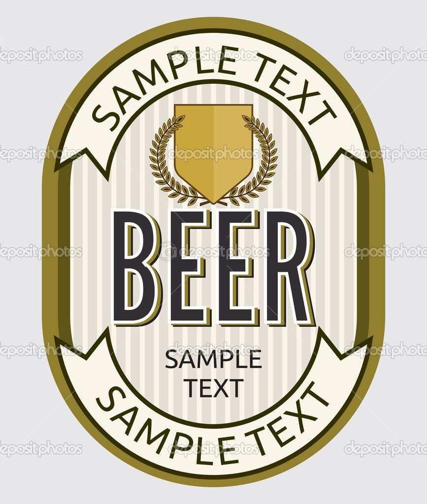 Bier Etikett Bieretiketten Etikettenvorlagen Bier