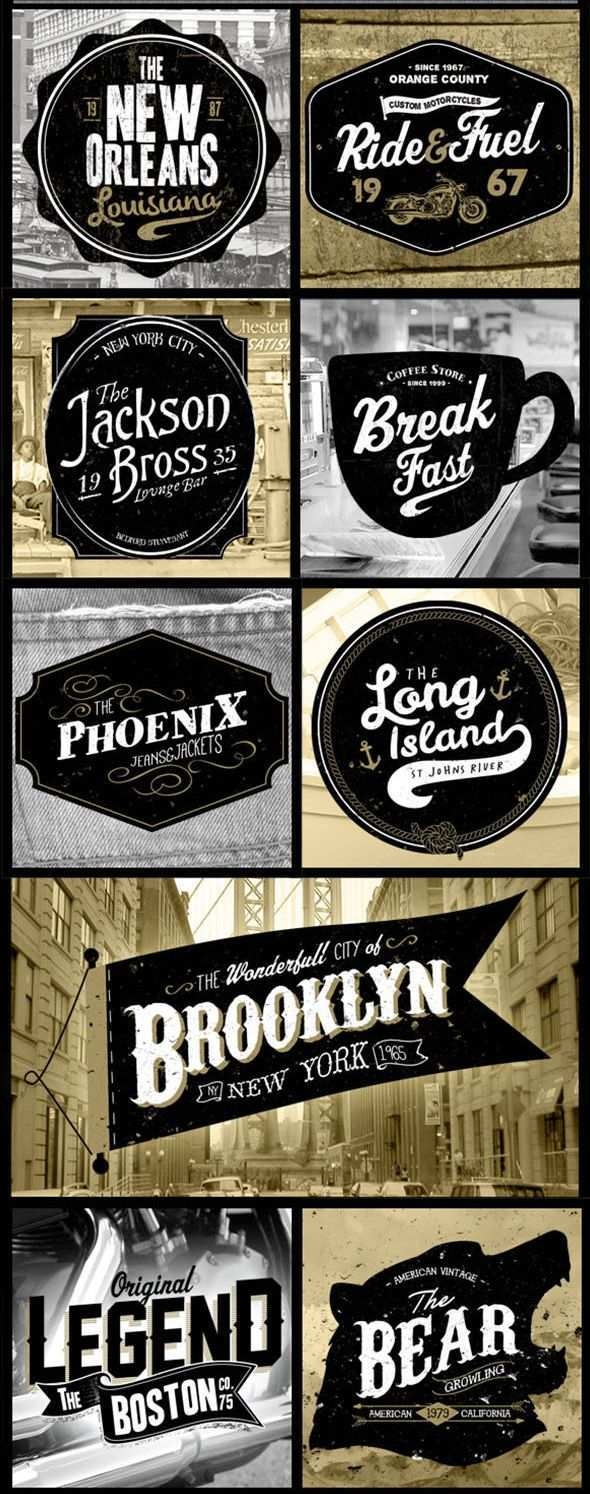 More Great Typography Lettering Designs From Up North Schriftzug Design Typografie Design Typographie Inspiration