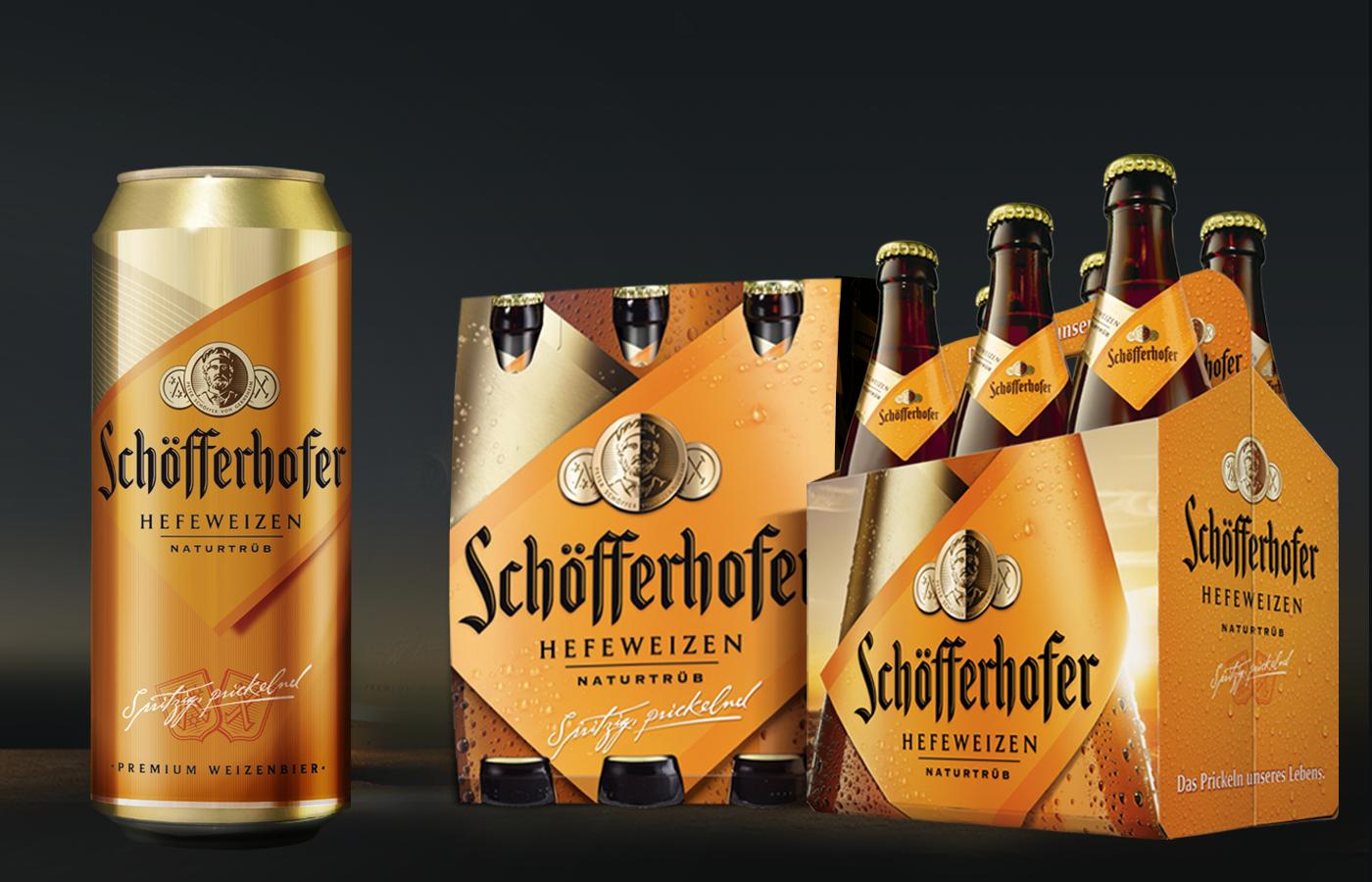 Schofferhofer Projekte Schofferhofer Bier Verpackung