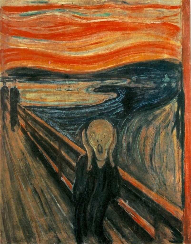 Der Schrei Von Edvard Munch 1893 Bildanalyse