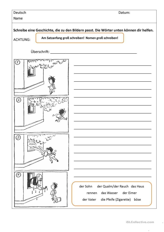 Bildergeschichten Mit Worthilfen Bildergeschichten Grundschule Bildergeschichte Bildgeschichte Volksschule